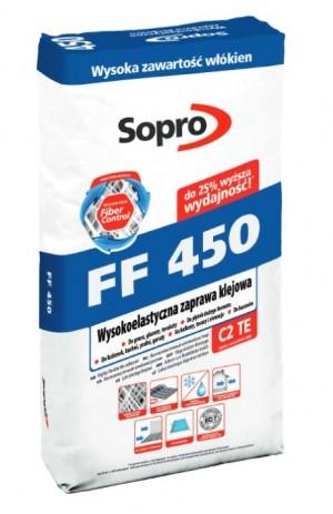 ZAPRAWA KLEJOWA FF-450  25KG -  SOPRO