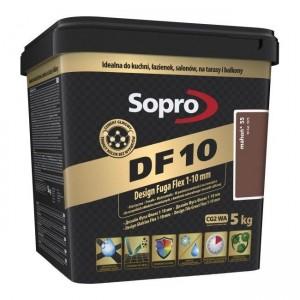 FUGA ELASTYCZNA DF10 MAHOŃ (55) 5 KG - SOPRO