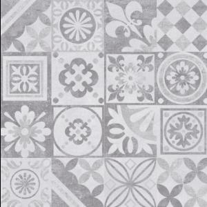 PŁYTKA ŚCIENNA DEKOR ESTRA GRAFIT LAPPATO 59,7X59,7 CM - CERAMICA LIMONE
